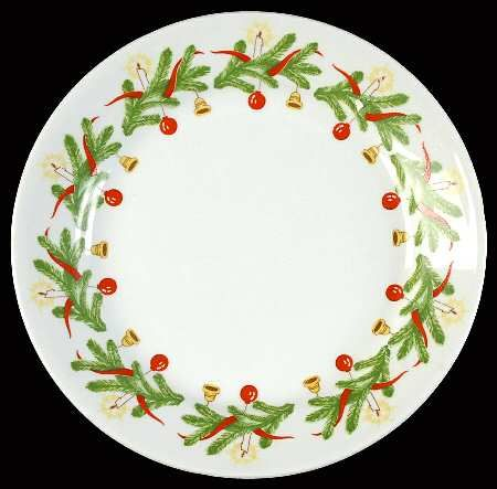 Christmas Wreath pattern by Arabia of Finland
