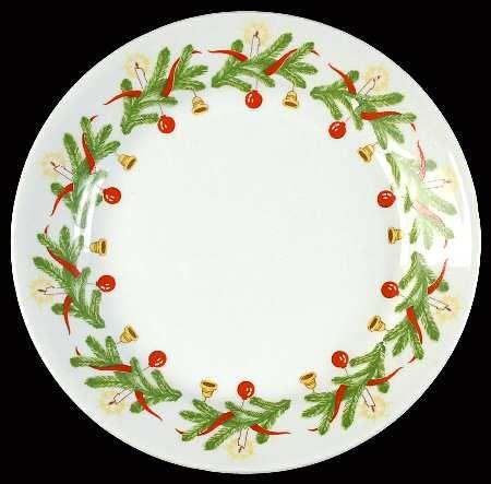 Christmas Wreath pattern by Arabia of Finland