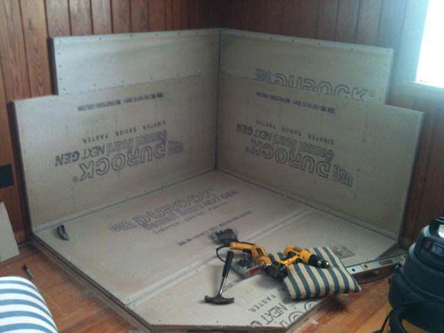 Build Wood Stove Heat Shield | The Shaffer Farm, LLC - 32 Best Stove Heat Shields Images On Pinterest