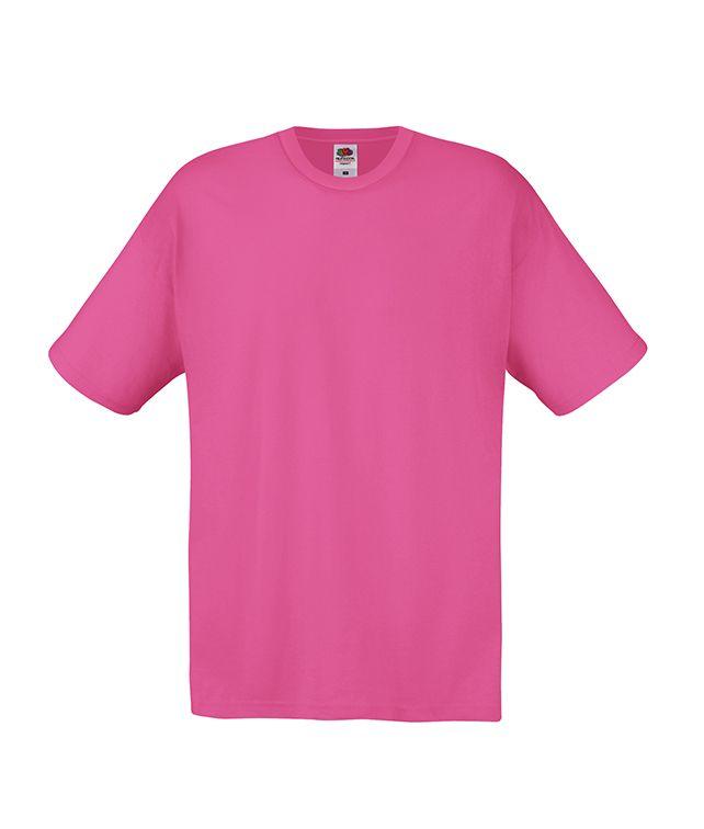 Koszulka Original. Odzież męska. Producent: Fruit of the Loom. Numer katalogowy: 610820. Materiał: 100% bawełna. Gramatura: 135g/145g.
