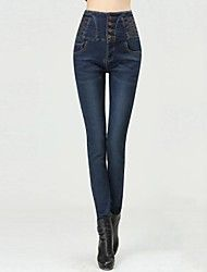 Women's Denim High Waist Pencil Pants With Fleece Inside(More Colors) Save up to 80% Off at Light in the Box with Coupon and Promo Codes.