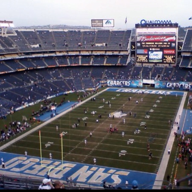 San Diego Chargers Football Field