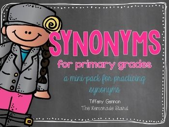 This mini-pack includes a full week of practicing some common, as well as challenging synonyms. It fits perfectly into any unit you may be teaching related to synonyms. It requires absolutely no prep! Just print and practice!!!This mini-pack includes:-mini-poster-3 synonym flapbook templates-Read the Room for synonyms-2 spin a synonym printables-2 synonym puzzles-synonym board gamePlease download the preview to have a closer look at the printables included!