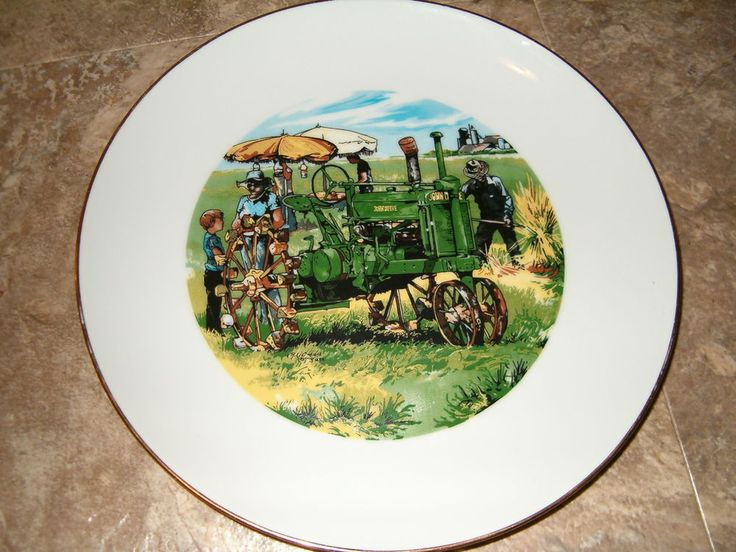 John Deere Employee Credit Union Limited Edition Collector Plate County Fair 83 #JohnDeere