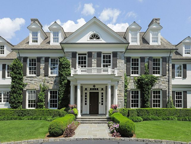 Luxury Homes Exterior Brick best 25+ home exterior design ideas on pinterest | home exteriors