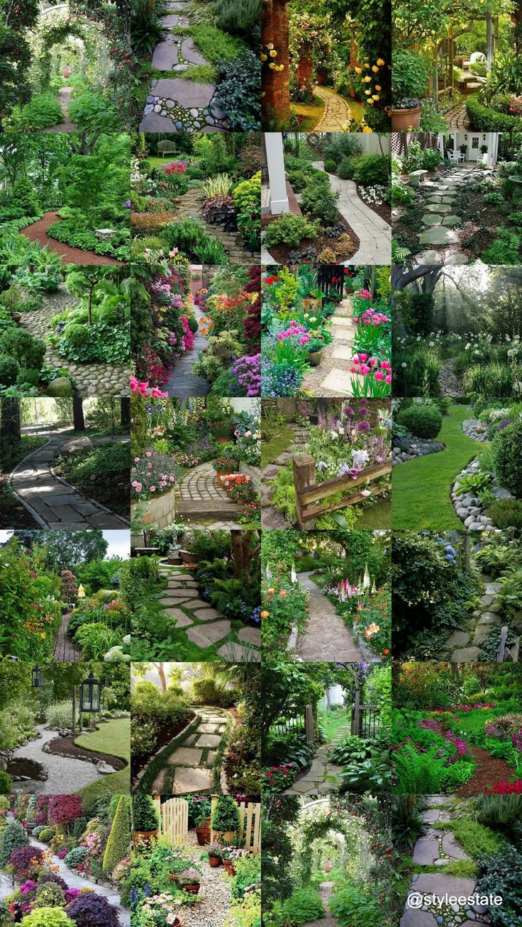 654 Best Garden And Landscape Images On Pinterest