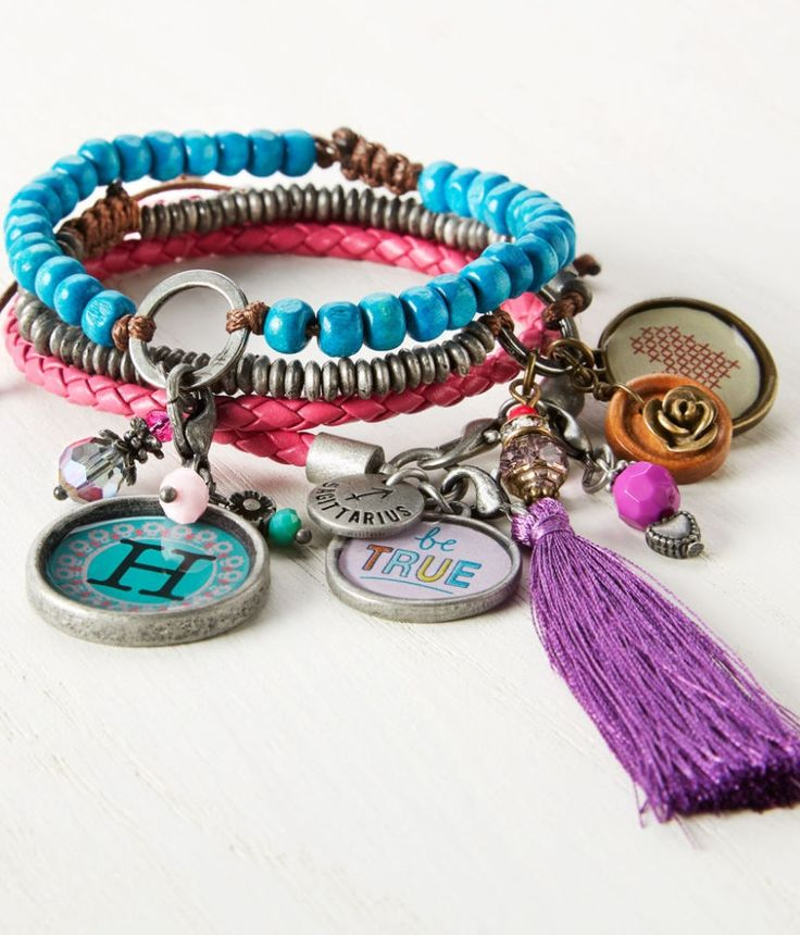 Make Your Own Charm Bracelets: Make Your Own Personalized Trendy Charm Bracelets Using