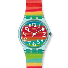 Swatch - love this at the beach!