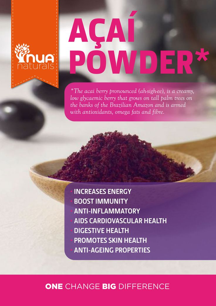Acai Berry Benefits And Side Effects