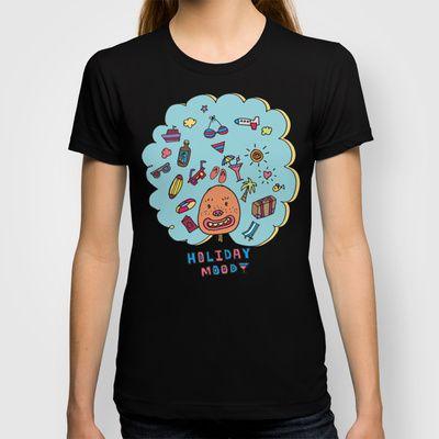 Holiday Mood!  T-shirt by PINT GRAPHICS - $18.00