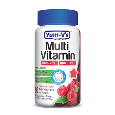 Yum V's Complete Multivitamin & Mineral Adult Jellies, 60 Ct