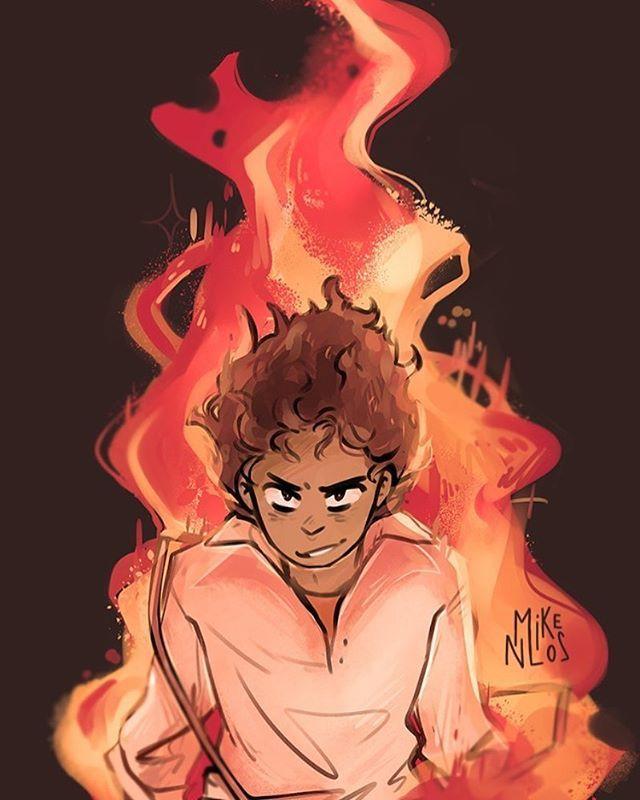Fire Boy Art By Mikenlos