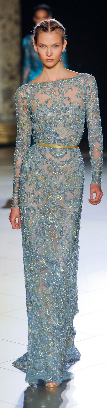 Mother of the Groom:  Elegant!  Elie Saab Couture Fall 2012   www.stylebistro.c...