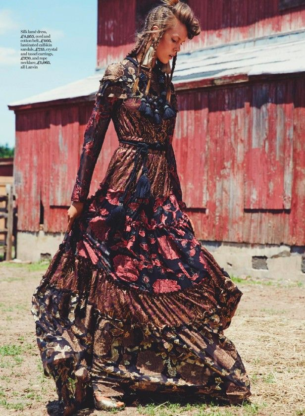 """Josefien Rodermans is """"Traveller's Tales"""" for Marie Claire UK September 2015 by David Roemer [editorial]"""
