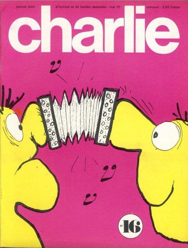 Charlie Mensuel - # 16 - Mai 1970 - Couverture de Reiser