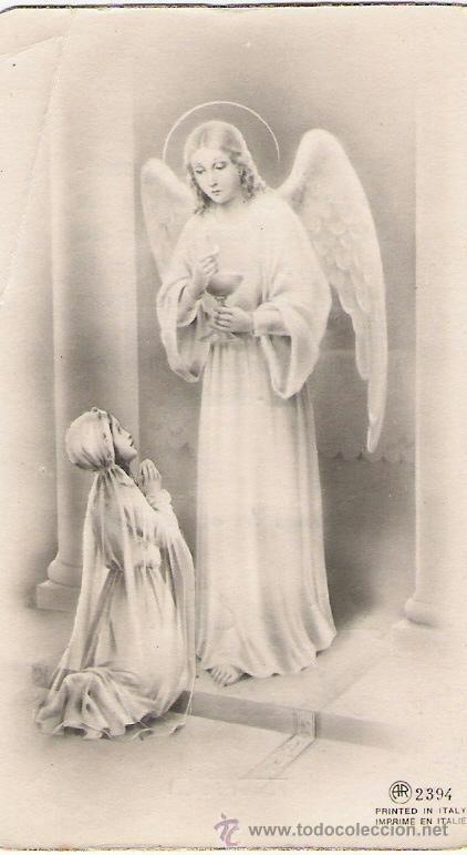 PRIMERA COMUNION - RECORDATORIO - AÑO 1944 (Postales - Religiosas y Recordatorios)
