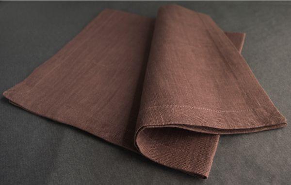 Serviette en lin  Made in Belgium www.linaluxe.com