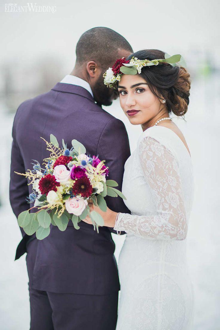 Br bridal headpieces montreal - Winter Wedding Bouquet Vintage Romance Wedding Theme
