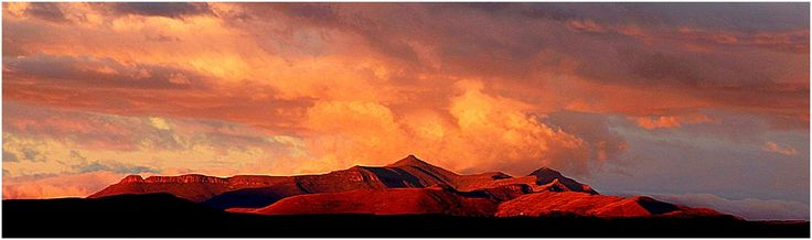 Sun Set Maluti Mountains By Andrew Metcalf Photography