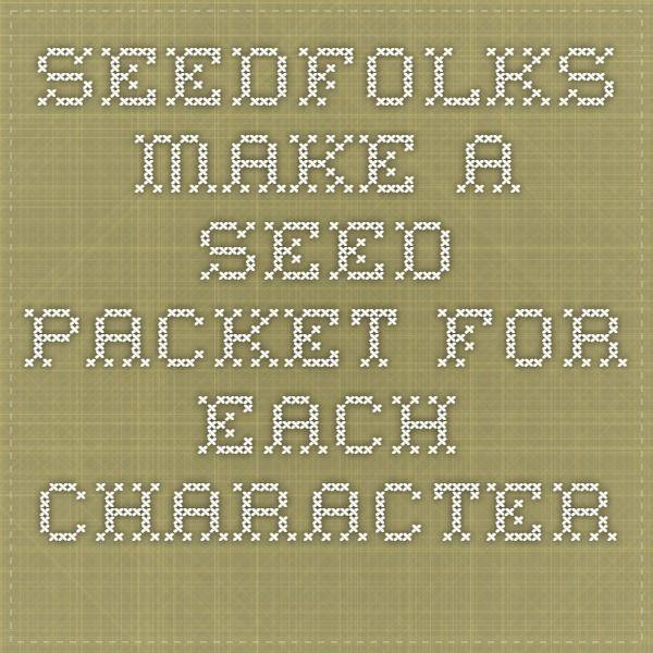 Seedfolks Classroom Activities