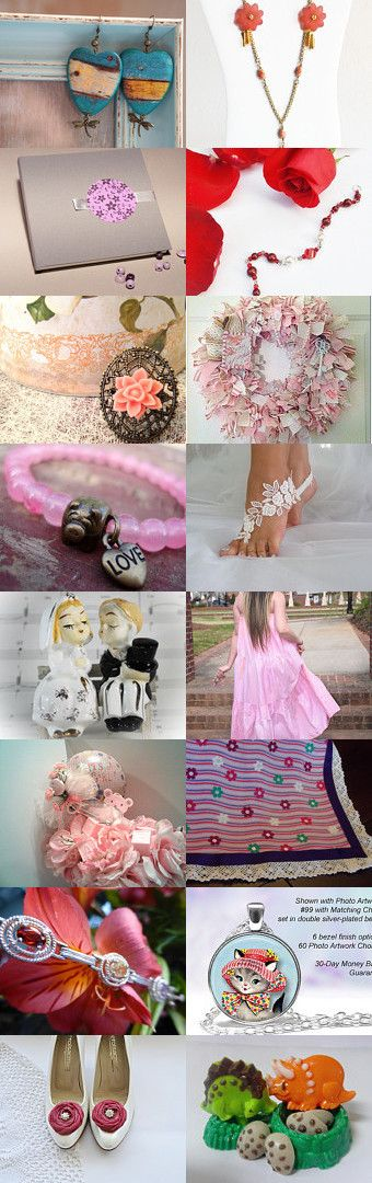 Spring Colors by Mirna on Etsy--Pinned+with+TreasuryPin.com