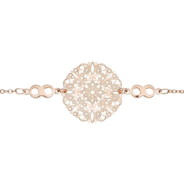 Allure Fashion Bracelet Rose Gold Plated