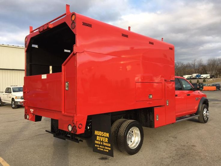 Welding Beds For Sale >> This Ram 5500 was outfitted with a Arbortech chipper body ...