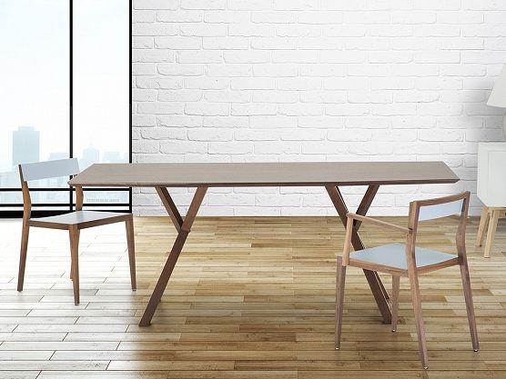 New table LISALA in different colours :) https://www.beliani.ch/wohnzimmer-moebel/esszimmertisch-kuchentisch-tisch-in-dunklem-nussbaum-lisala.html