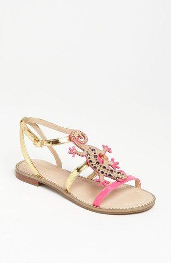 Kate Spade lizard sandal