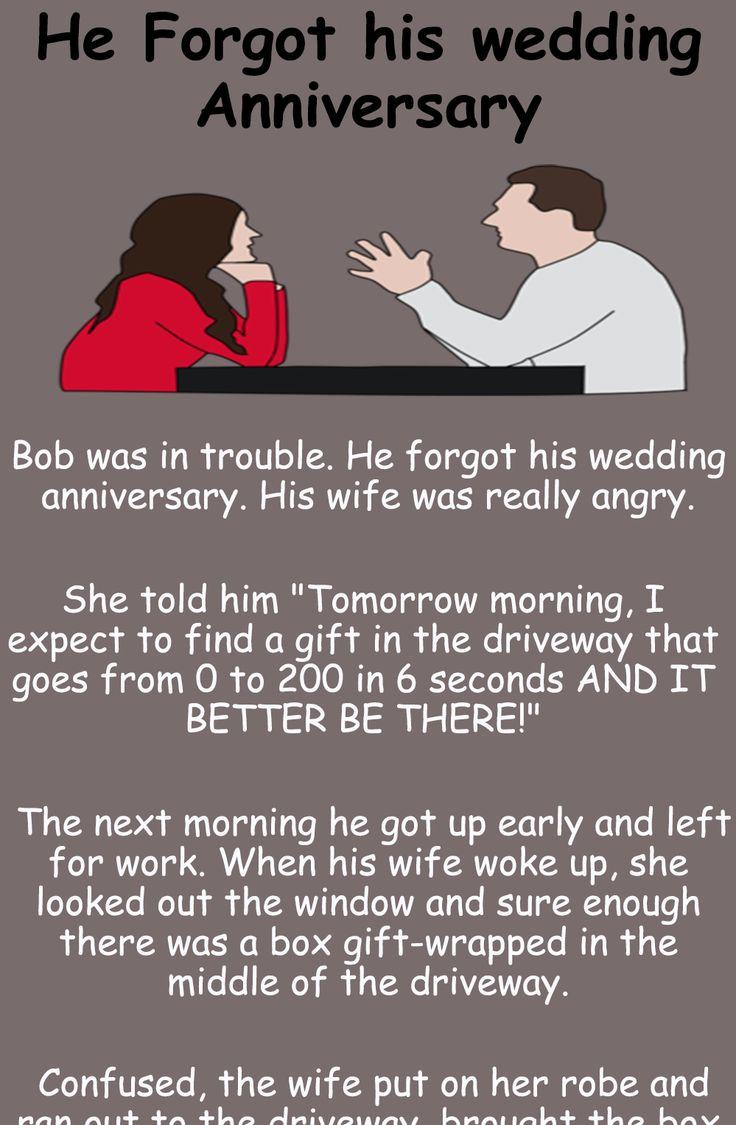 Amazing humor He his wedding Anniversary funny