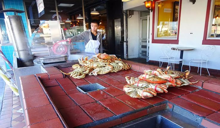 The Crab Market in San Fransisco