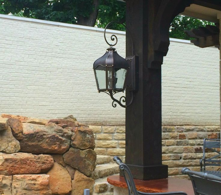 #Dallas #Landscape #Lighting sold & installed 2 of these in a covered  outdoor living space / patio in #Frisco , TX. Wrought Iron. - 26 Best High End Light Fixtures Installed By Dallas Landscape