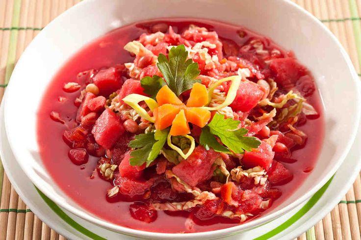 Barszcz ukraiński #smacznastrona #poradytesco #barszcz #barszczukraiński #zupa #obiad #mniam