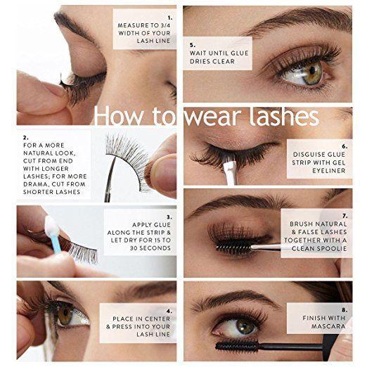 Amazon Com Eliace 50 Pairs 5 Styles Lashes Handmade False Eyelashes Set Professional Fake Eyelashes Pack 10 Fake Eyelashes Fake Lashes Fake Eyelashes Applying