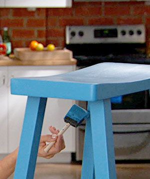 How to Paint Unfinished Wood Furniture | To redecorate a room, there's no need to buy new furniture—just update what you've got with a fresh coat of paint. Watch this video to find out how.