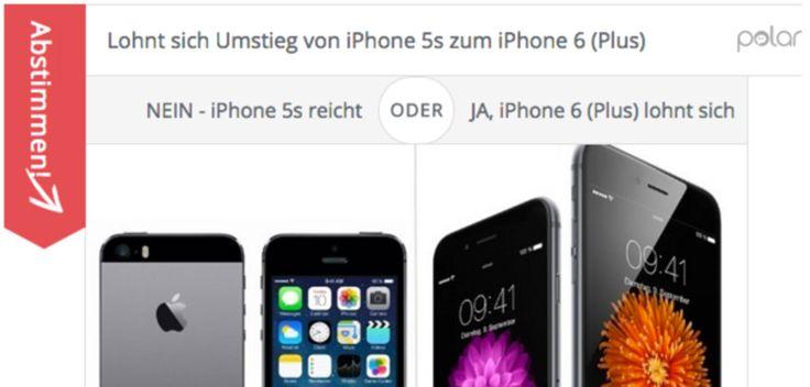 Lohnt sich Umstieg zum iPhone 6 (Plus) von iPhone 5s? - https://apfeleimer.de/2014/09/lohnt-sich-umstieg-zum-iphone-6-plus-von-iphone-5s - Lohnt sich der Kauf eines iPhone 6 oder iPhone 6 Plus wenn man das Vorjahresmodell iPhone 5s besitzt? Lohnt sich der Umstieg zum iPhone 6 (Plus) vom iPhone 5? Diese Frage stellen uns aktuell sehr viele Leser, eine klare Antwort fällt uns schwer. Wie denkt ihr darüber? Da sicherlich einige ihr n...