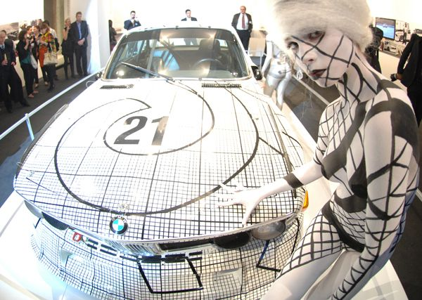 BMW Art Cars by Naideen Hillier, via Behance