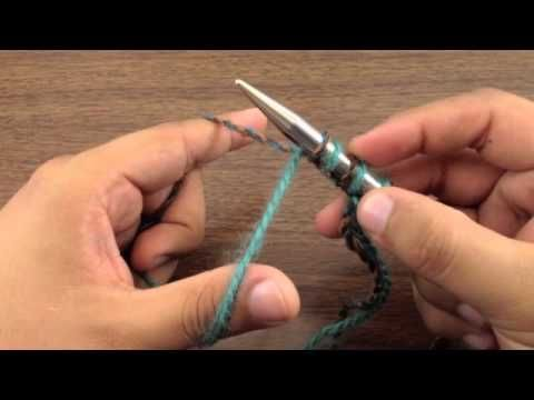 New Stitch A Day: How to Knit The Single Cast On - YouTube
