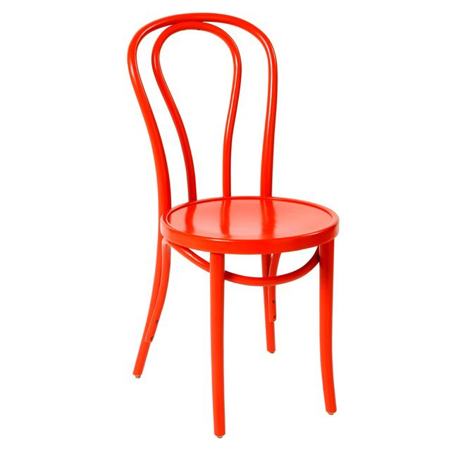 Bentwood Chair No18 Red - Made in Poland - Classic Michael Thonet Design - Available at JMH Furniture   Delivery Australia wide