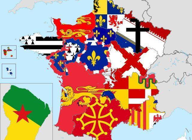La carte des drapeaux de nos futures super-régions
