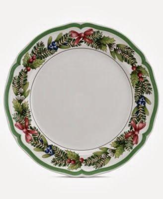 Williams Sonoma 12 Days Of Christmas Dinner Plates