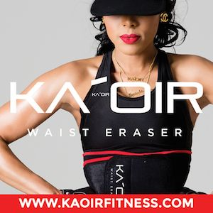 New FITNESS PRODUCT, WAIST ERASER by KEYSHIA KAOIR