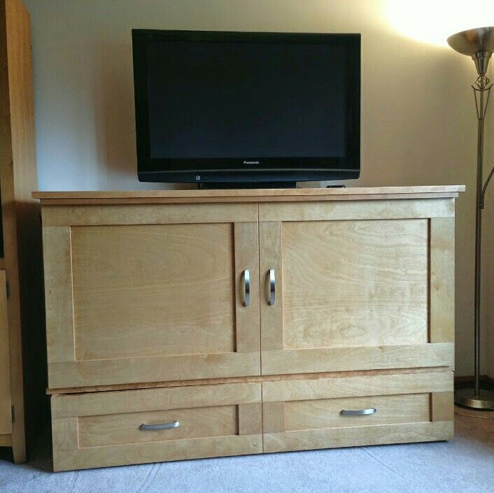 Country Style CabinetBed as a TV Stand