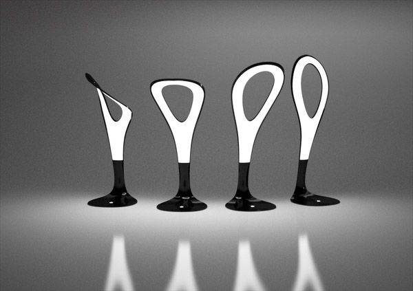 flexible oled table lamp