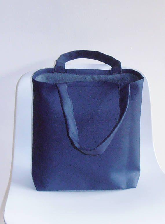 blauwe Tas Tote Bag boodschappentas werktas cadeau idee