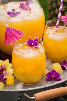 Resep Nanas Mangga lemon jus