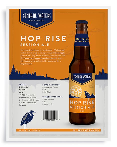 Central Waters Brewing Sell Sheet