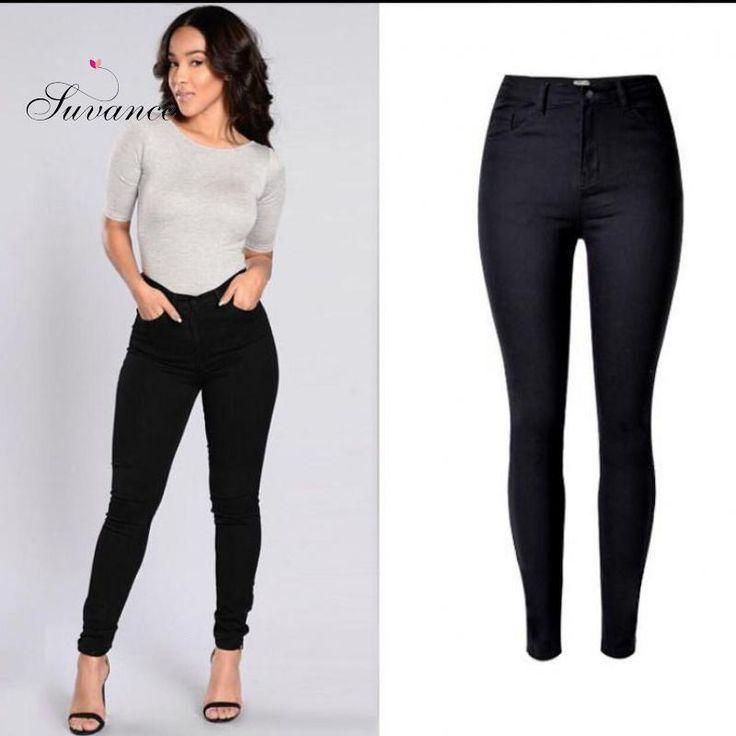 Now selling: Women's Stretchable All Match Black Basic Pencil Jeans http://therail.myshopify.com/products/womens-stretchable-all-match-black-basic-pencil-jeans?utm_campaign=crowdfire&utm_content=crowdfire&utm_medium=social&utm_source=pinterest