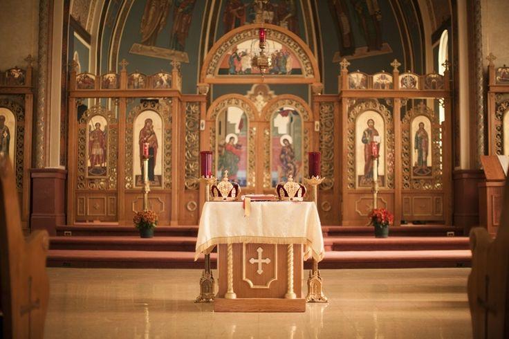 October 2012 St John's altar