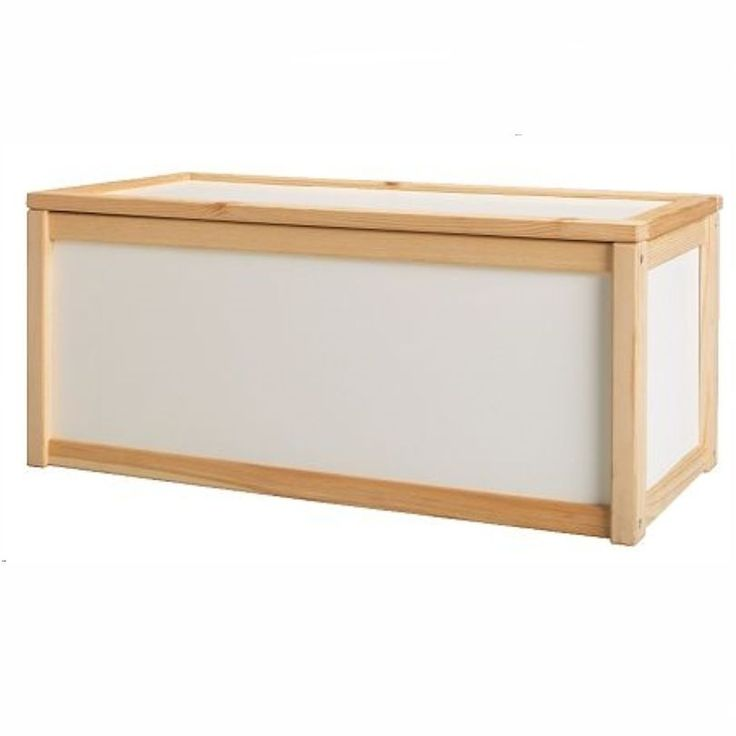 NEW WOODEN TOY STORAGE UNIT BOX / CHILDRENS KIDS TOYS CHEST BOXES WHITE CHEAP